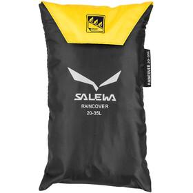 SALEWA Raincover 20-35l, nero/giallo